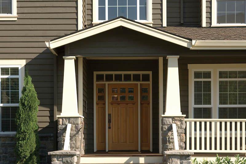 Craftsman Home Entry - Plan #011D-0193 | houseplansandmore.com