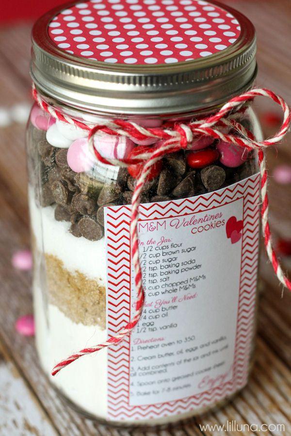 Valentine S Cookie Jar Gift Cookie Jar Gifts Simple Valentines Gifts Jar Gifts