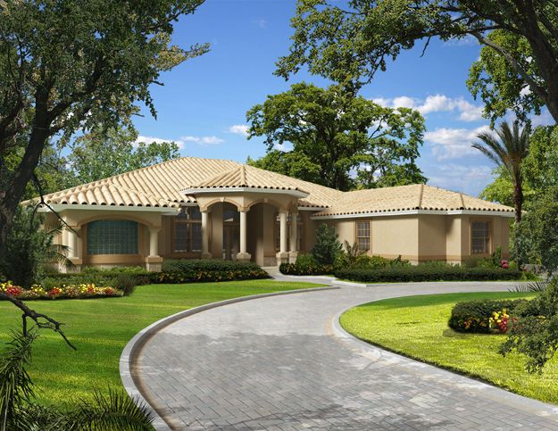 House Plans Home Plans And Floor Plans From Ultimate Plans Mediterranean Style House Plans Mediterranean House Plans Mediterranean House Plan