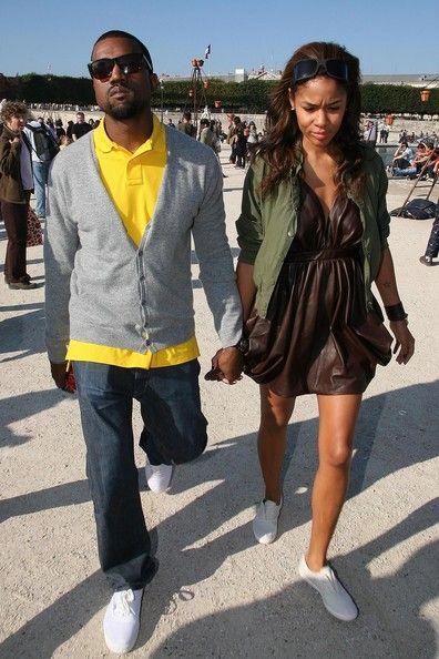 Kanye West Photos Photos Chloe Paris Fashion Week Spring Summer 2008 Arrivals Front Row Kanye West Photo Fashion Chloe Fashion