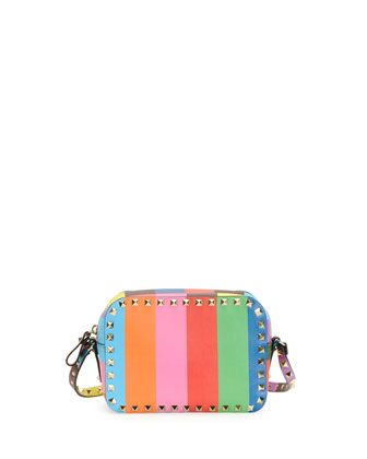 1973 Rockstud Camera Crossbody Bag by Valentino at Neiman Marcus.