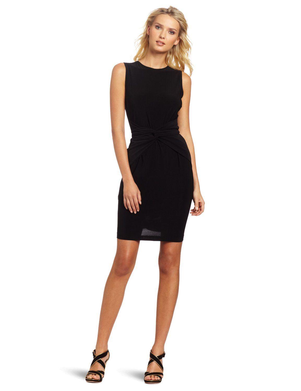 Amazon.com: KAMALIKULTURE Women\'s Sleeveless Tie Front Dress ...