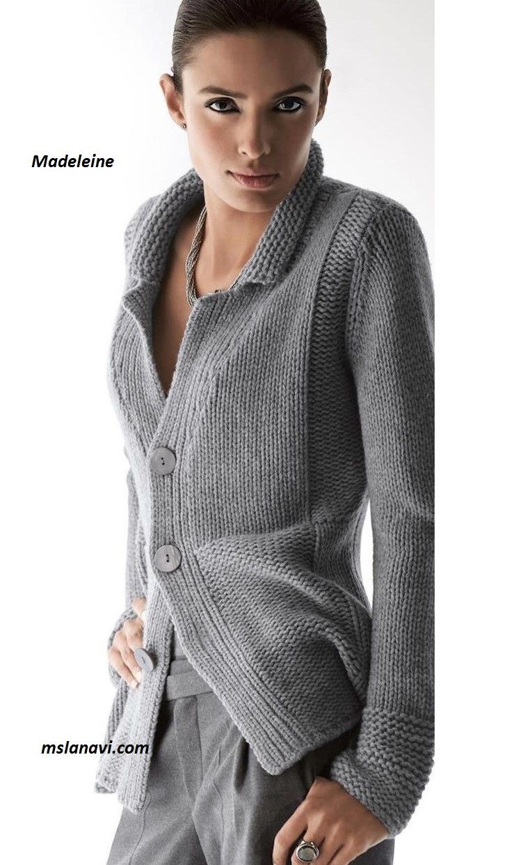 Вязание спицами- жакеты,пуловеры,свитера,кардиганы ...