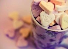 lavender cup, i love you, hearts, romantic, sweet, hd wallpaper