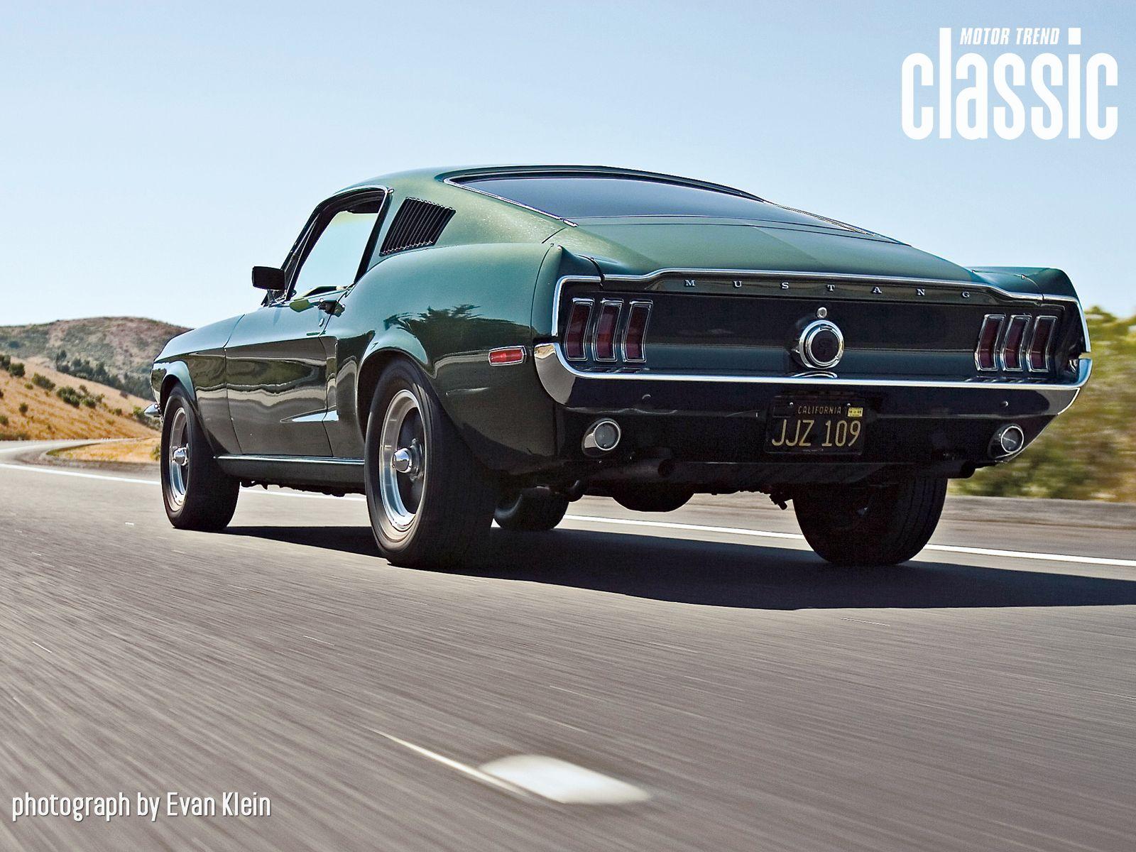 1968 Ford Mustang Gt 390 Bullitt Replica Wallpaper Gallery Motor Trend 1968 Ford Mustang Fastback Mustang Fastback Ford Mustang