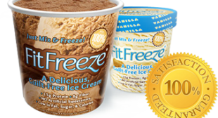 Ice Cream that keeps you Slim. This is too good to be true. But they say you can lose weight eating this stuff. Order me a truck load full ......  we're having an ice cream party ... wooohooo !!!