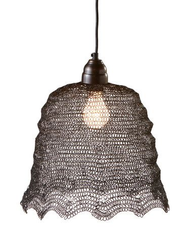 Another great find on #zulily! Wire Bell Pendant Light #zulilyfinds ...