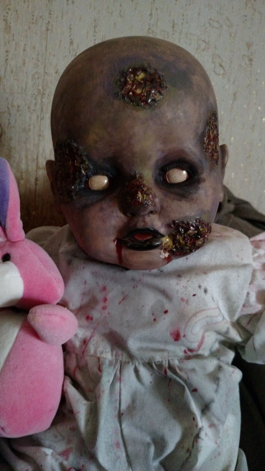 Life Sized Zombie Baby by MistressRae13 on Etsy