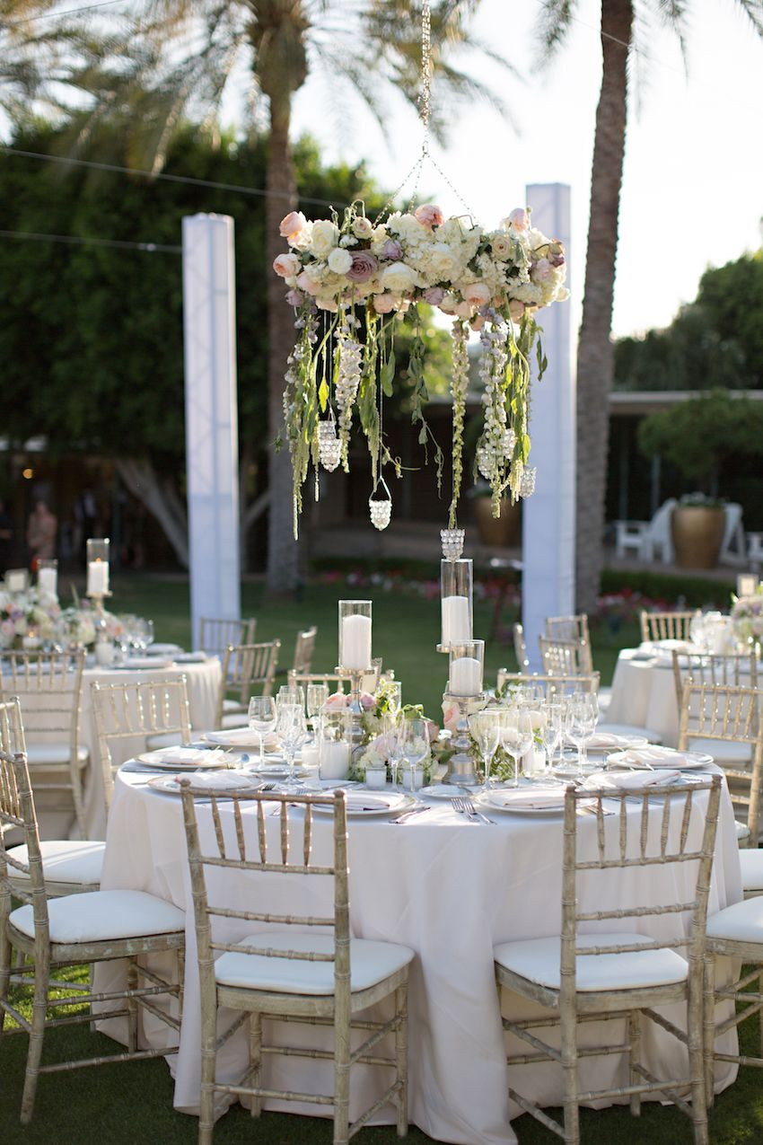 Sophisticated Garden-Inspired Wedding In Phoenix, Arizona