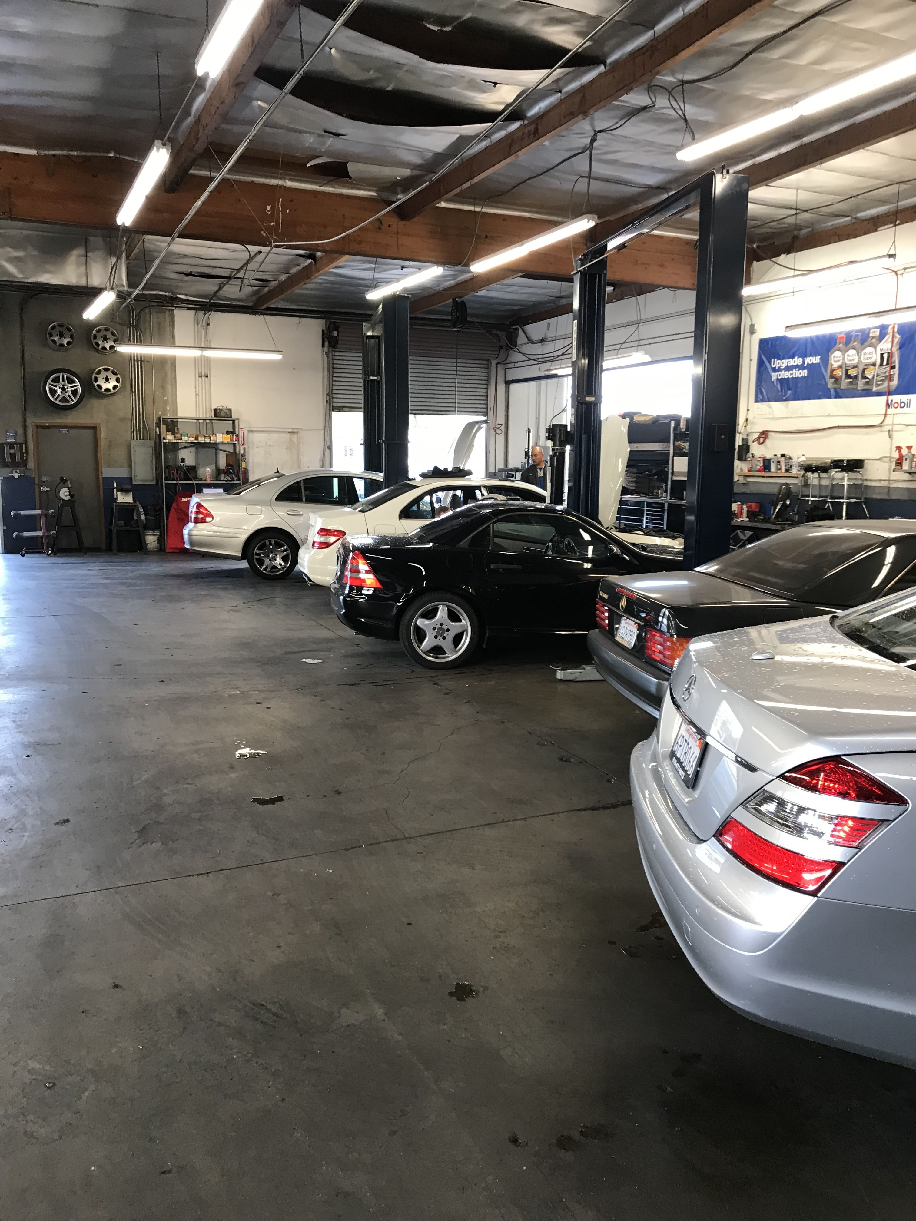 Full Day Of Mercedes Benz Work At South Bay Autohaus