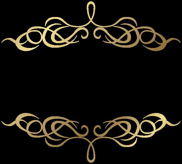 Transparent Gold Elenets Png Image Free Clip Art Wedding Logo Design Clip Art Borders