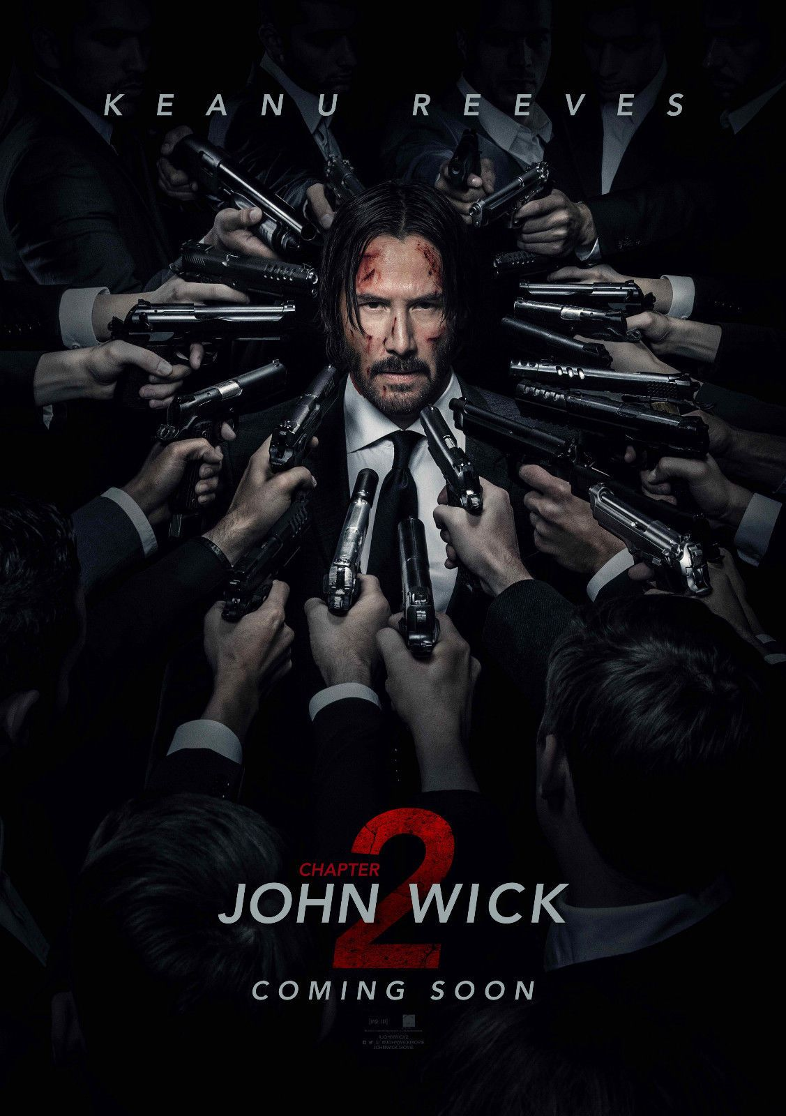 14 99 Eason John Wick Chapter 2 Movie Poster 1 23 6x35 In Ebay Collectibles Films Complets Films Complets Gratuits John Wick