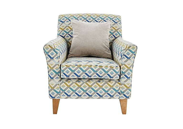 Perfect Copenhagen Fabric Accent Armchair