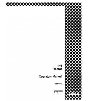 CASE IH FARMALL 140 TRACTOR OPERATORS MANUAL DOWNLOAD