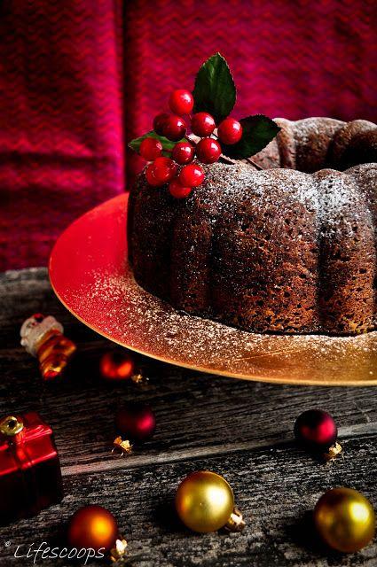 Scoops vie: Noël gâteau aux fruits / Kerala Plum gâteau