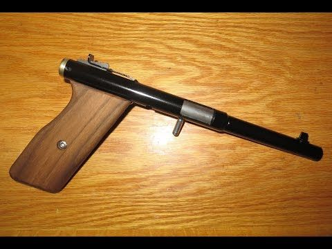 Homemade Gun Tutorial: A Simple  22 Single Shot (Part 1 of 2