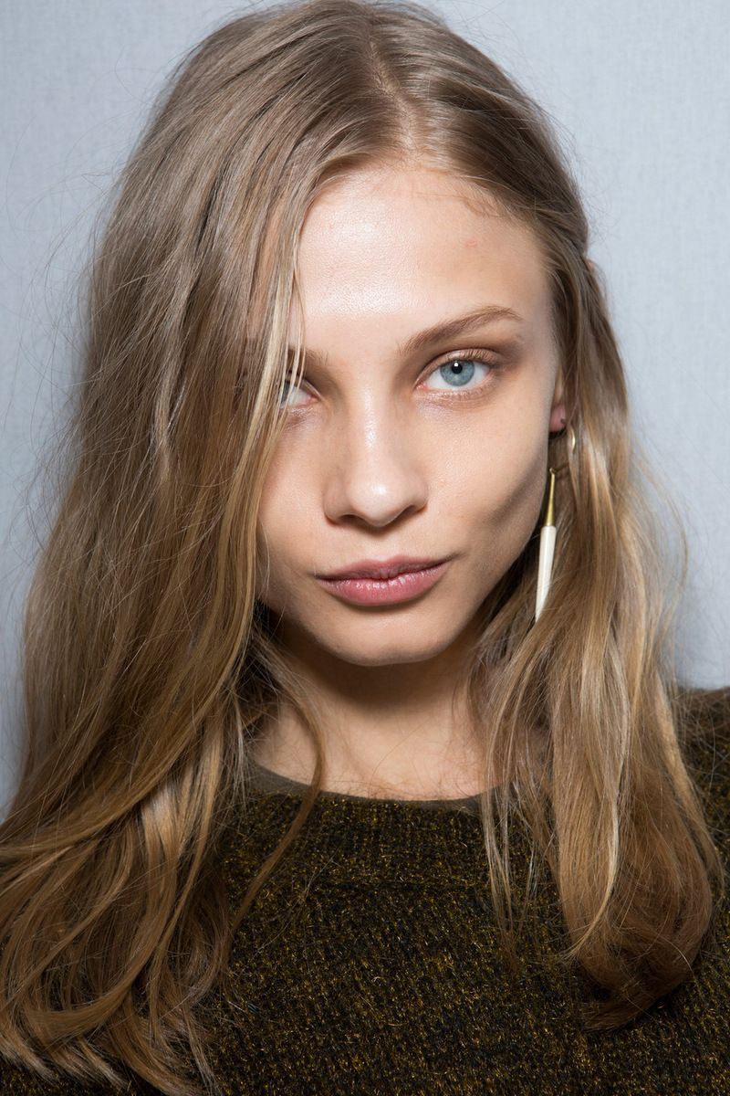 Hair Color Isabel Marant Fall 2014 Backstage Studded Hearts