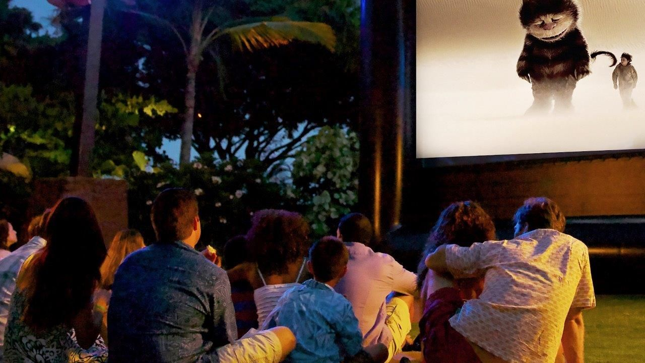 Family Fun Movie Nights At Hotel Irvine With Images Hotel