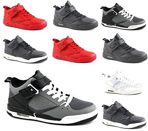 20556b35209ee2 Damen Herren Low Top Sneaker Basketball Skater Schwarz Weiß Rot Sport  Freizeit Schuhe 36-45