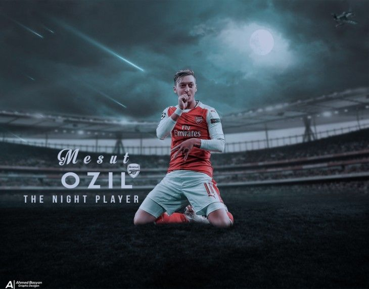 1024x803 Mesut-Ozil--Wallpaper-16 17 By Ahmedbasyon On