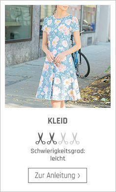 Kleid nähen – kostenlose Nähanleitung