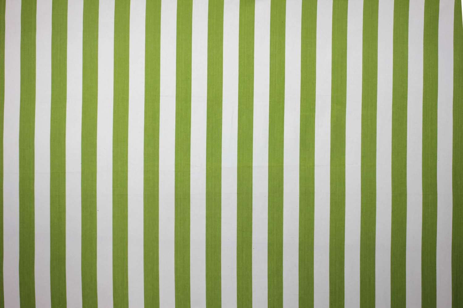 Lime Green And White Striped Fabric Table Tennis Stripe