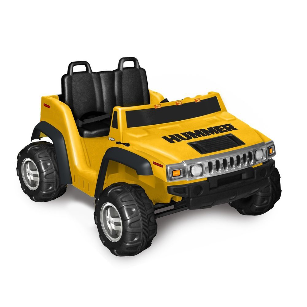 Kids Ride On Car Electric Battery Powered  Seater Hummer H  Volt