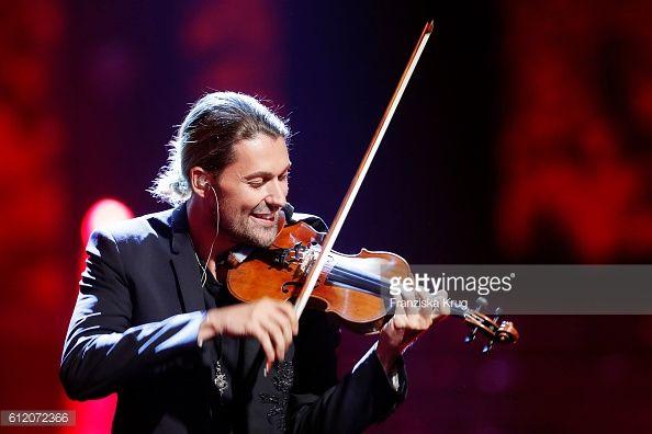 News Photo : German violinist David Garrett during the tv show...
