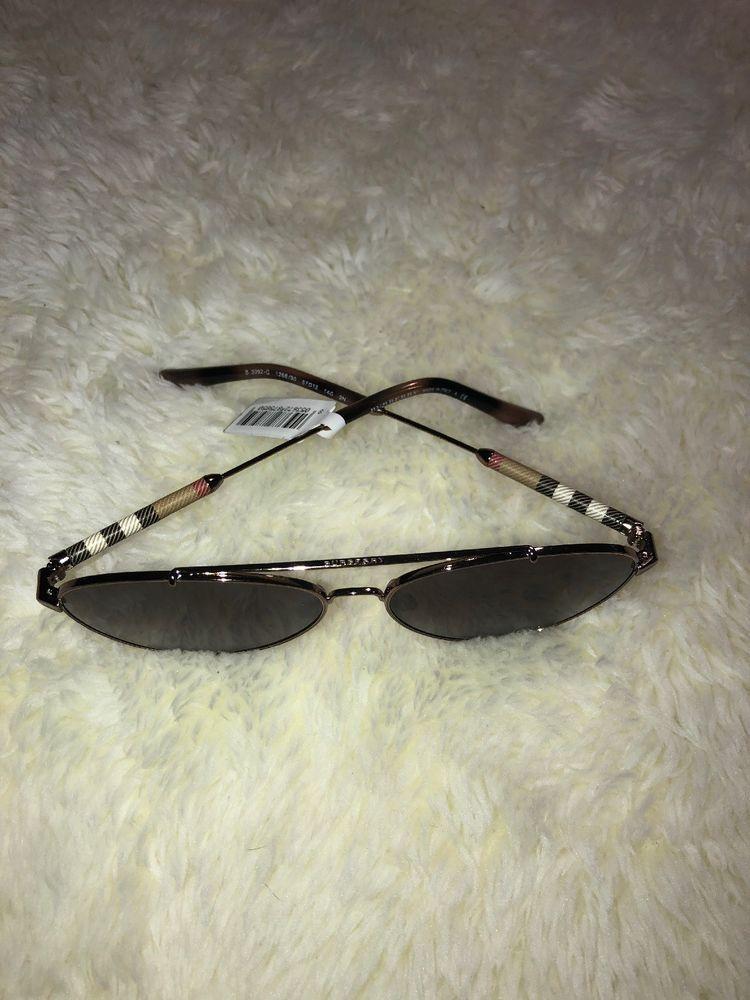 706c96c973cd Burberry B 3092-Q 1003 87 Sunglasses Gunmetal Frame Dark Grey Lenses 57mm