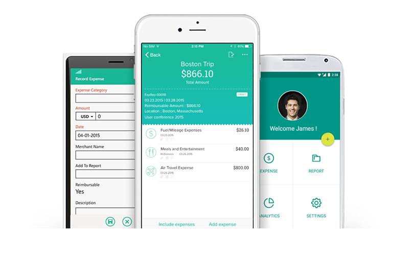 Expense Reporting App With Approval And Reimbursement Process