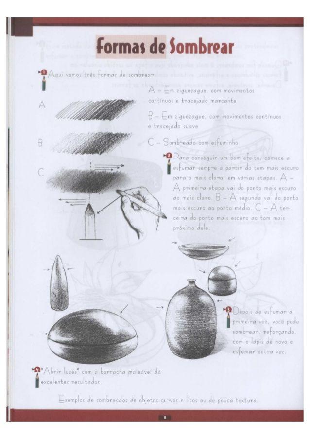 Curso completo de desenho (luz e sombra) | Desenhos | Pinterest ...