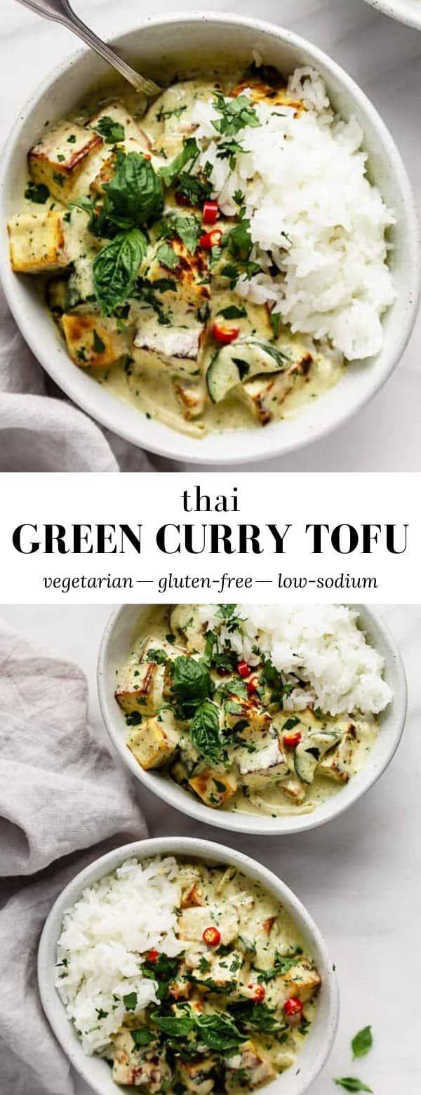 Merveilleux Mot-Clé Thai Green Curry Tofu