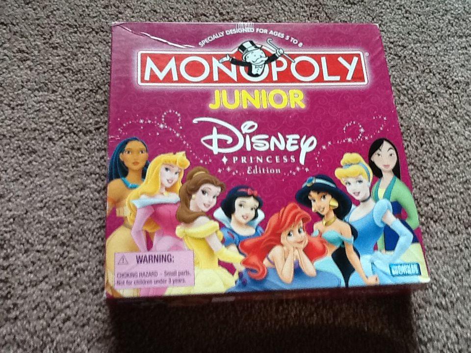 Monopoly Jr Disney