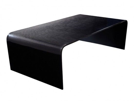 Outline Carbon Fiber Coffee Table Carbon Fiber Fiberglass Table
