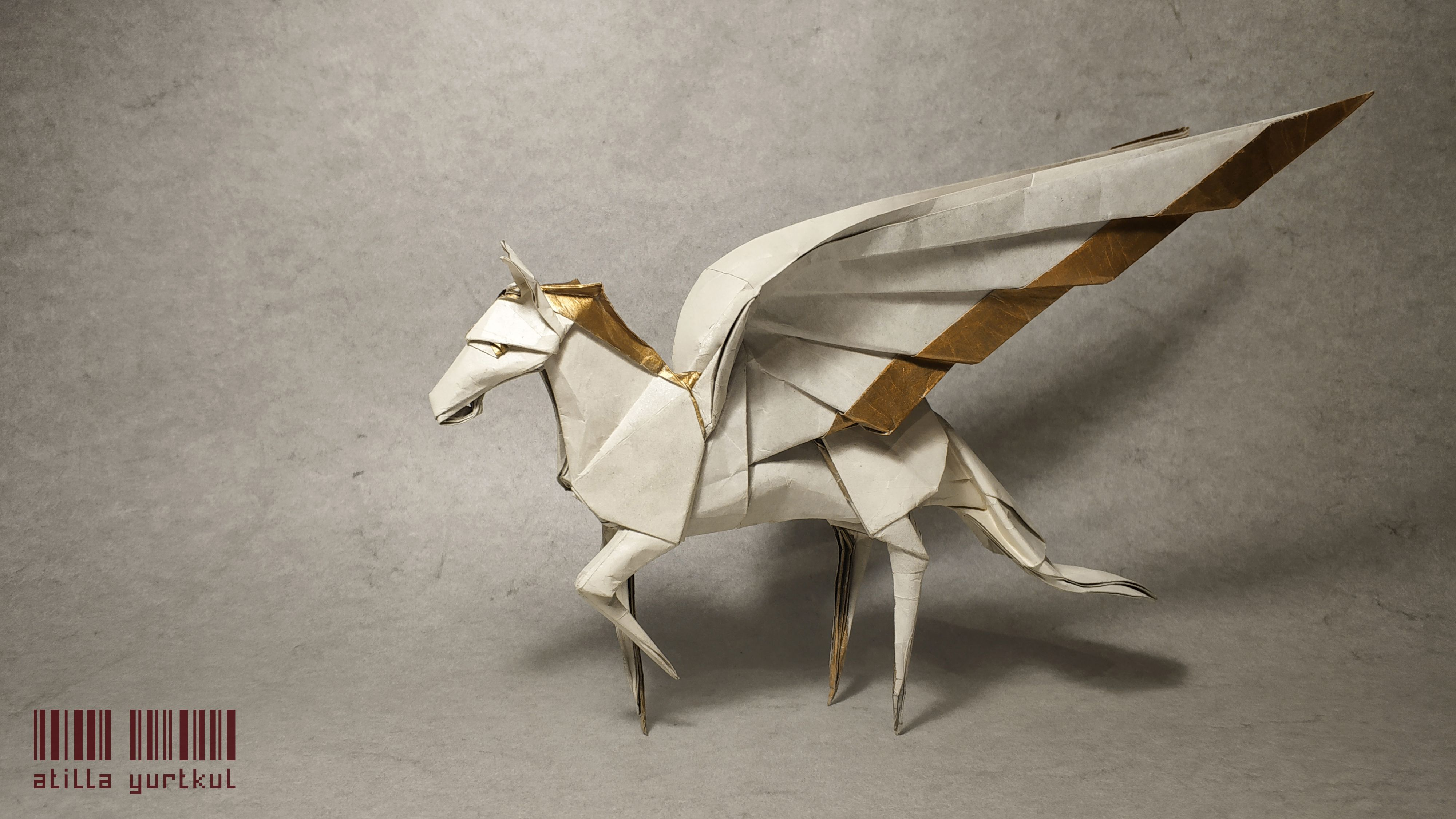 Pegasus Mythology Origami Paper Art 3dorigamiswandiagram 3d Dragon Diagram Dragons On Fantastic Designed By Dong Viet Thien And Folded Atilla