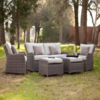 Rodanthe 5 Pc Outdoor Seating Set Found At Jcpenney Balcony