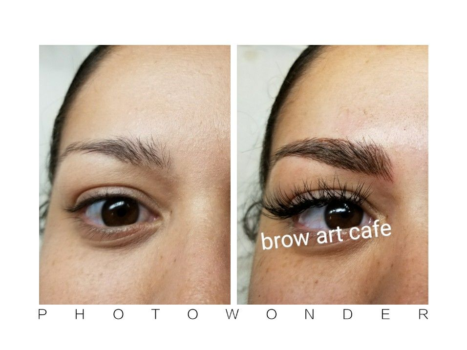 5ac25040d72 Microblading by Lana Luu at Brow Art Cafe & Lashes in Orange! | Brow ...
