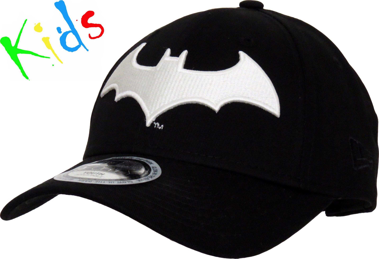 9796de1d144 New Era Kids 940 Glow In The Dark Batman Adjustable Cap. Black with the  Batman