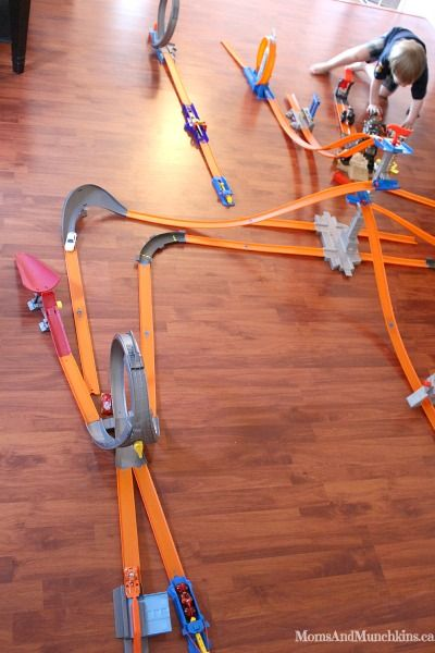 Hot Wheels Track Builder Challenge Fun With Hot Wheels Toys Hot
