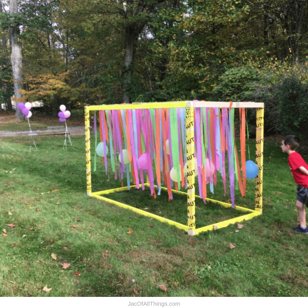 Backyard Obstacle Course Party For Kids Backyard Obstacle Course Kids Obstacle Course Obstacle Course Party