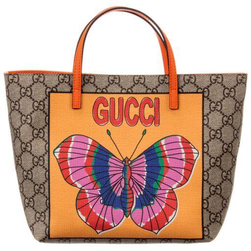 Gucci -  GG  Butterfly Tote Bag (25cm)  7d7a806e4f018
