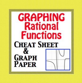 Rational Functions Graphing Rational Function Graphing Graph Paper