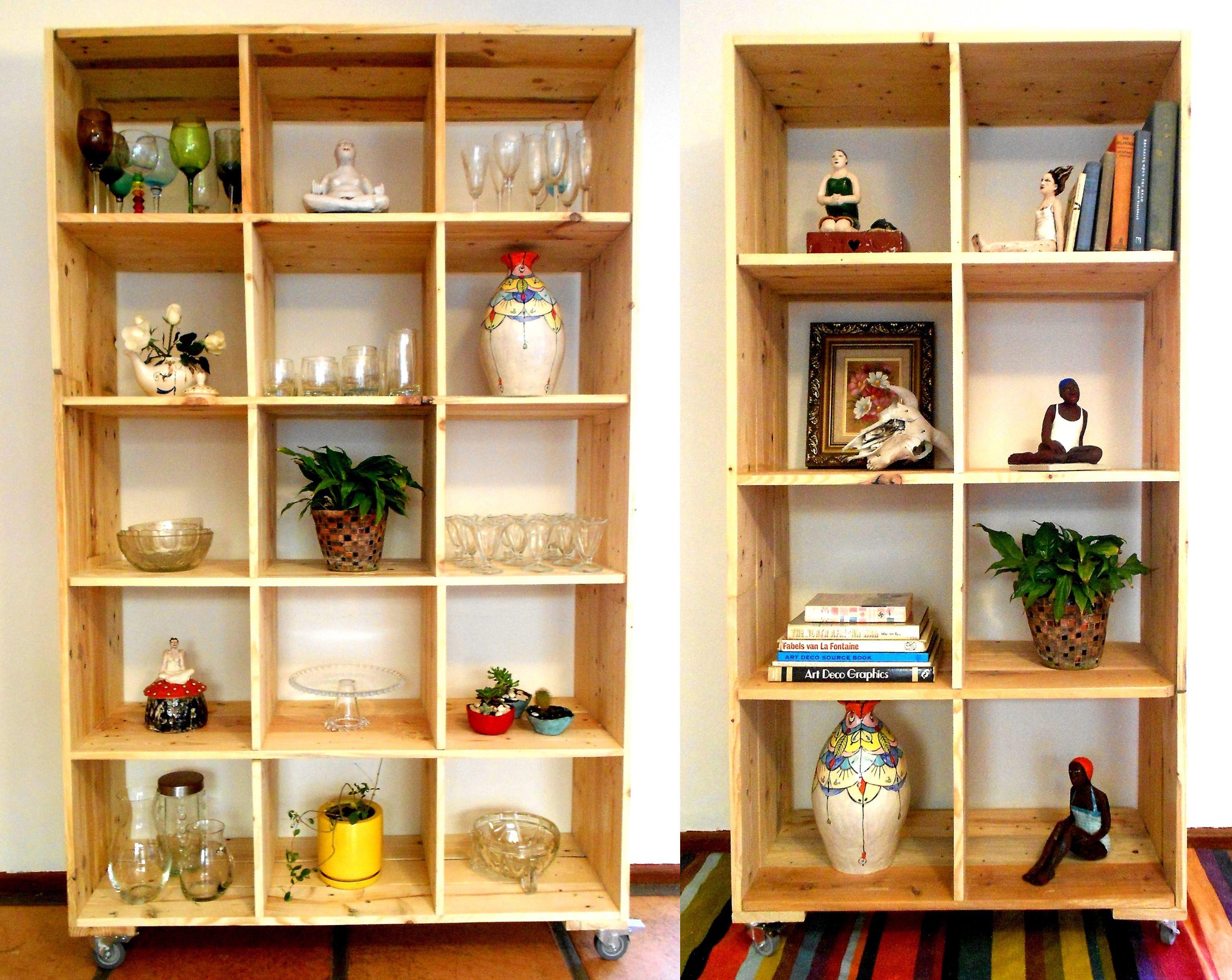 Palet muebles columpios jardin hechos palets muebles de - Muebles almacenaje exterior ...
