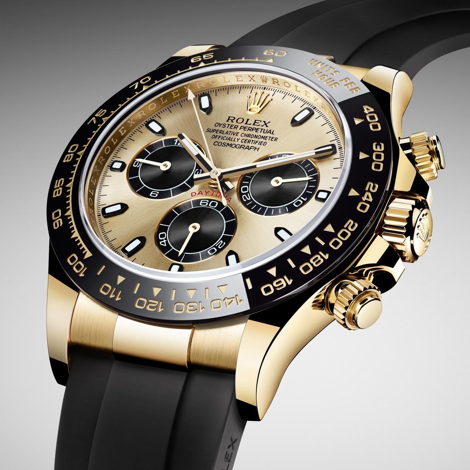 Rolex watches ln stankof daytona white gold oysterflex