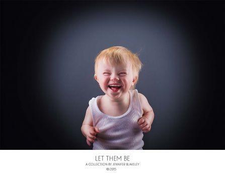 "From the ""Let Them Be"" photo series by celebrity photographer Jennifer Blakeley. Photo: Jennifer Blakeley/http://jenniferblakeley.com"