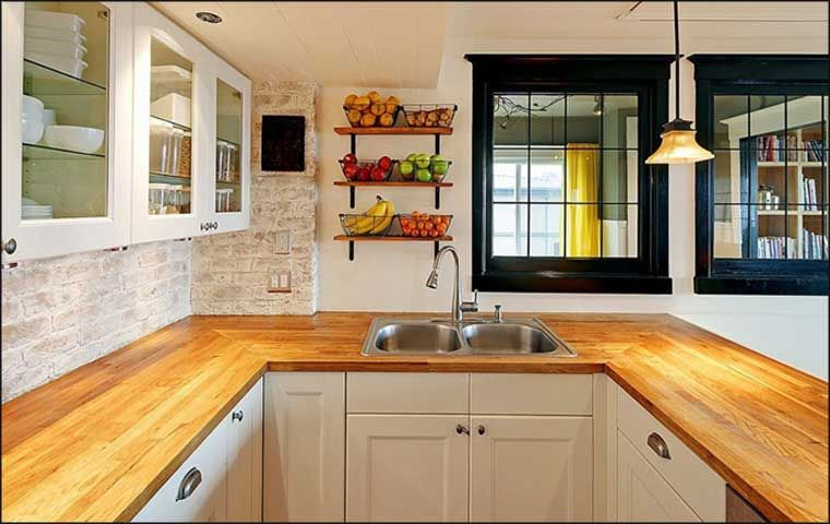 21 Small U-Shaped Kitchen Design Ideas Clutter, Shelves and Room