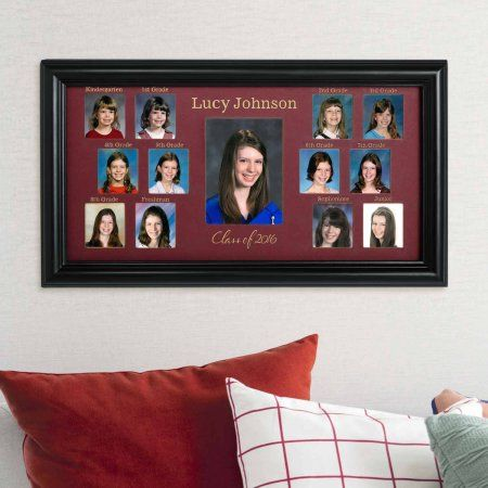 Personalized School Years Photo Frame Multicolor Products