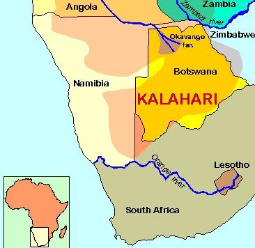 Unsolved Enigma Of The Lost Ancient City In The Kalahari Desert