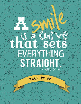 School of Smiles and a Printable - live. laugh. rowe