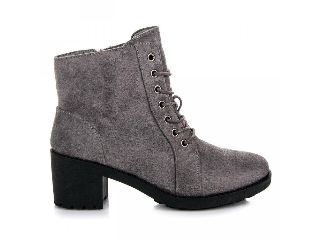 9601b2cb5 Sivé členkové topánky Gita | Naj.sk | To najlepšie z Naj.sk | Boots ...